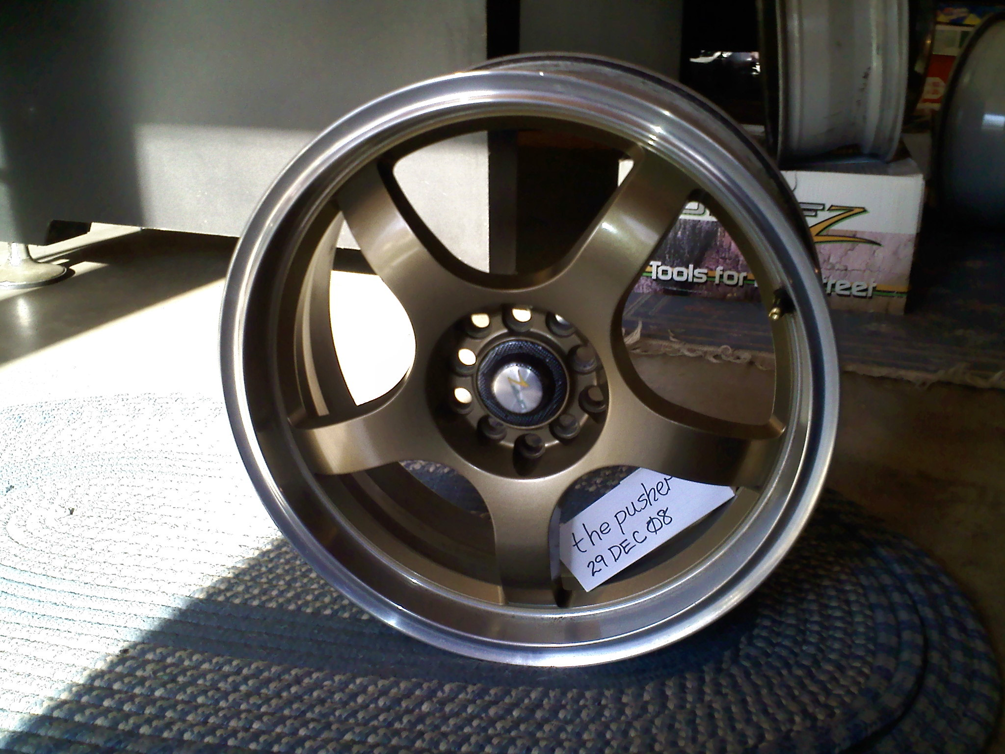 dupli color wheel paint?? - Page 2 - EvoXForums.com - Mitsubishi ...