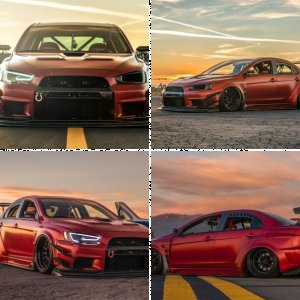 VARIS WIDEBODY | MITSUBISHI | EVO X | SEMA BUILD